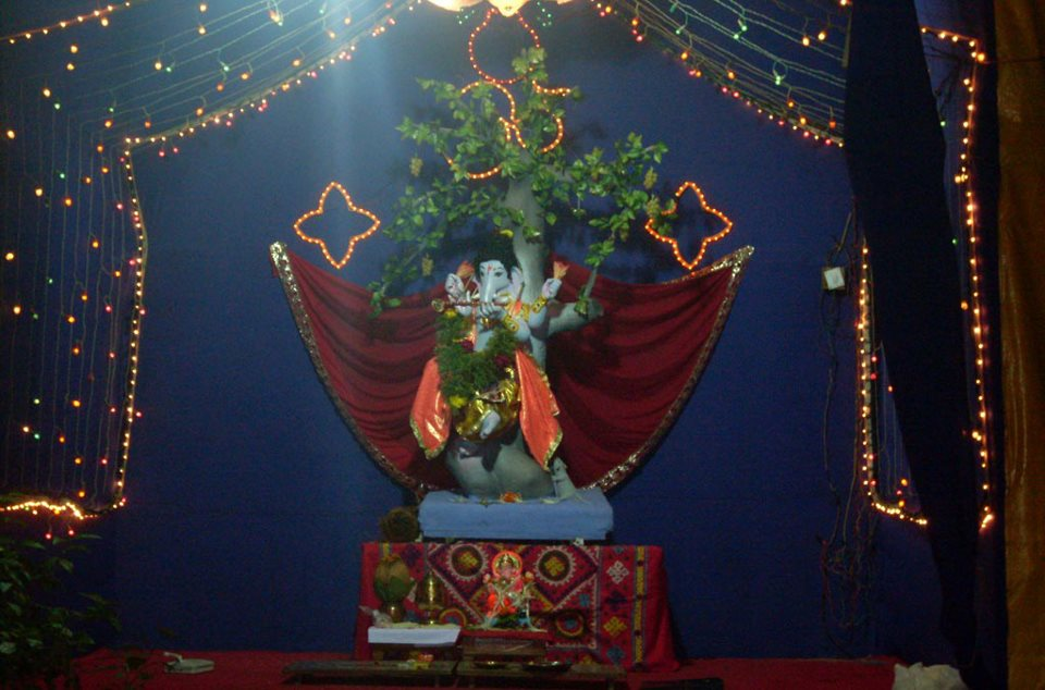 Lord ganesha photos wallpaper india big events for Background decoration for ganpati